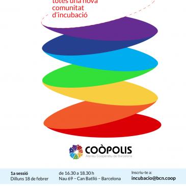 Ens posem en dansa amb les sessions de co-disseny per a l'espai d'incubació de l'Ateneu Cooperatiu de Coòpolis