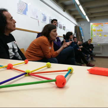 Co-design sessions for the incubation space of the Ateneu Cooperativa de Coopolis