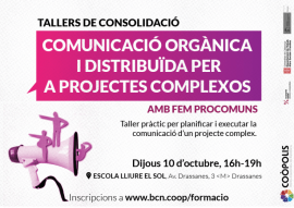Workshop on Organic and Distributed Communication, in Coopolis