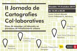 Teixidora participa a la II Jornada de cartografies col·laboratives