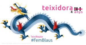 Teixidora 4 anys, TeixiRepte femBlaus