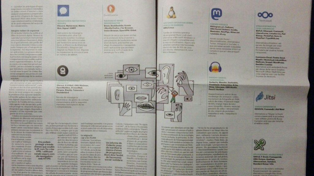Foto de La Directa 512 pàgines 20 i 21