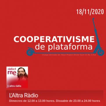 El Cooperativisme de Plataforma a l'Altra Ràdio