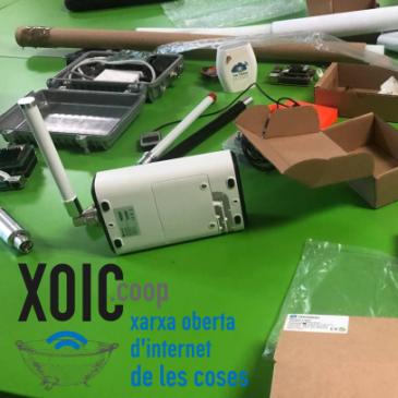¡Volvemos a los talleres presenciales, explorando la red de LoRaWAN con XOIC!